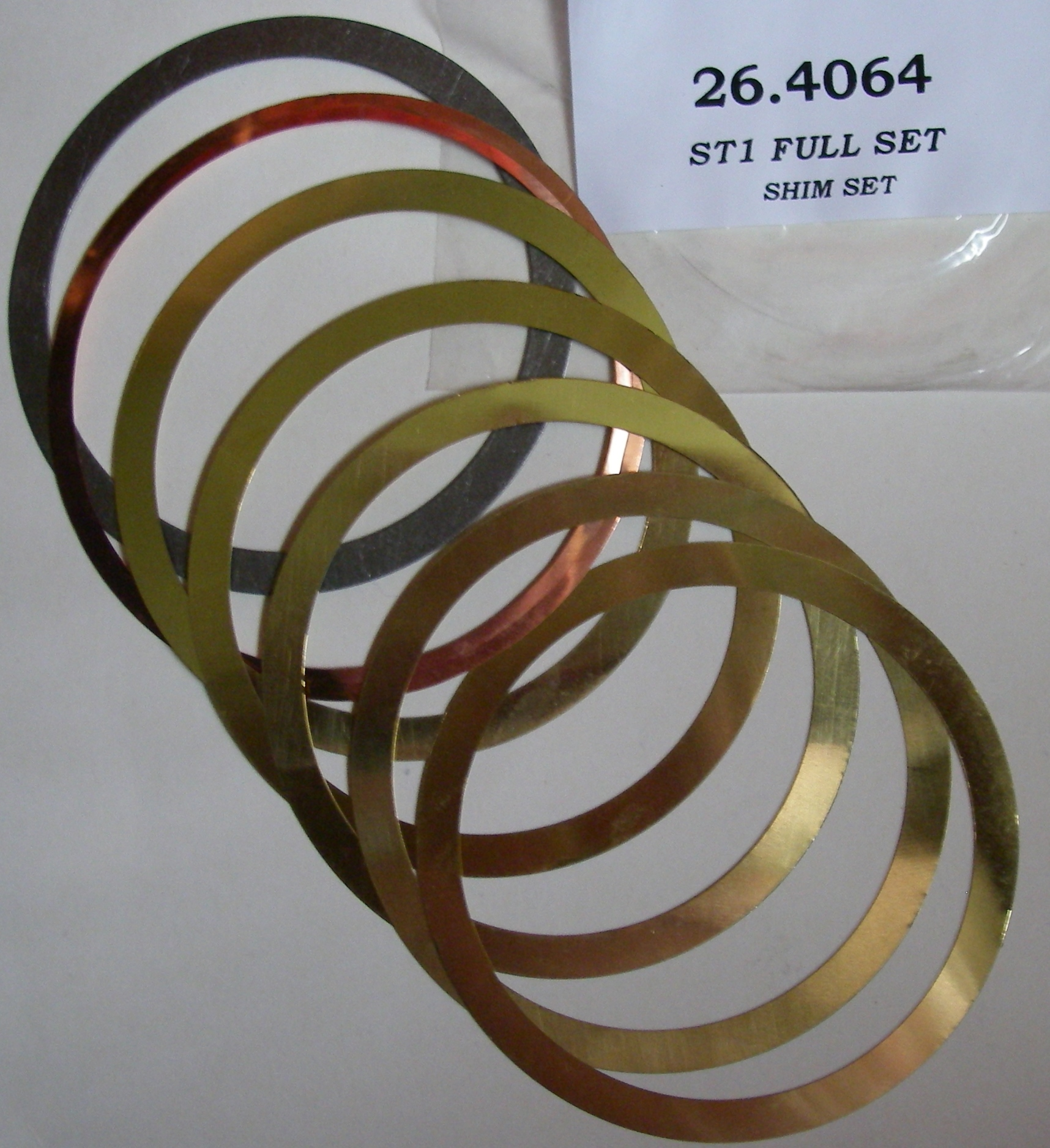 <b>Lister ST Engine Shim Set</b>